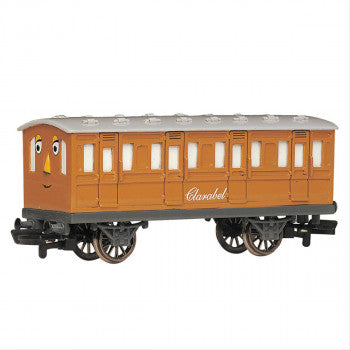 Bachmann 76045BE Clarabel Carriage (Part of the Thomas and Friends Range) - For use on OO Gauge Track