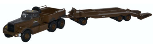 Oxford Diecast 76DT002 Diamond T980 Tank Transporter 1st Canadian Army Italy 1943 1:76 Scale