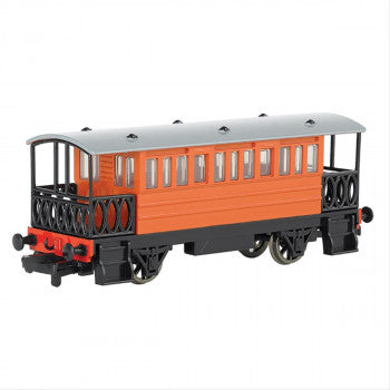 Bachmann 76039BE Red Brake Coach (Part of the Thomas and Friends Range) - For use on OO Gauge Track