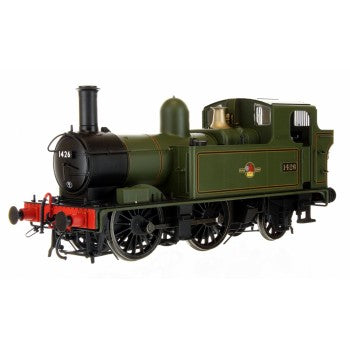 Dapol 7S-006-023 BR 14XX Class Late Crest Lined Green 1426 Auto Fitted Top Feed - O Gauge