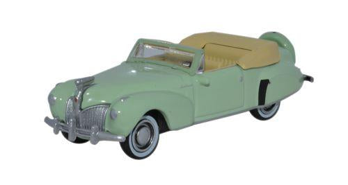 Oxford Diecast 87LC41005 Lincoln Continental 1941 Paradise Green