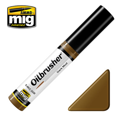 Ammo Mig 3508 Dark Mud Oilbrusher 10ml
