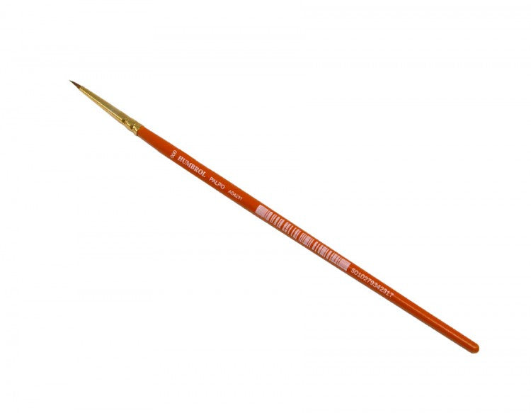 Humbrol Palpo AG4231 Paint Brush - Size 000 (Orange Handle)
