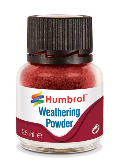 Humbrol AV0006 Weathering Powder Iron Oxide - 28ml