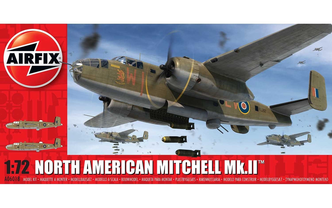 Airfix A06018 North American Mitchell MkII 1:72 Scale