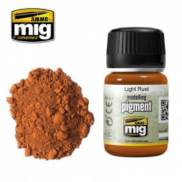 Ammo Mig 3006 Modelling Pigment  - Light Rust - 35ml Jar