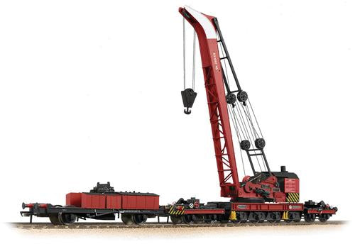 Bachmann 38-803 Ransomes and Rapier 45t Breakdown Crane BR Red - OO Gauge