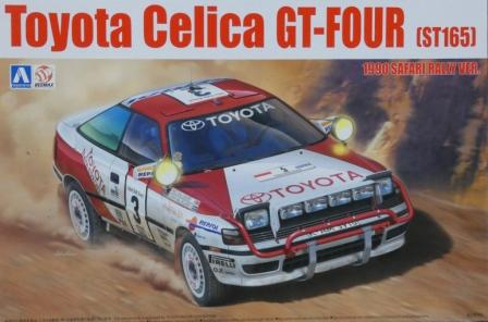 Beemax Aoshima B24006 Toyota Celica GT-Four Kit (No 08) - 1990 Safari Rally Version - 1:24 Scale