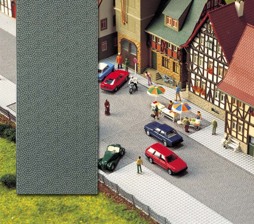 Busch 8131 Old Town Street (2metres x 40mm) - N Scale