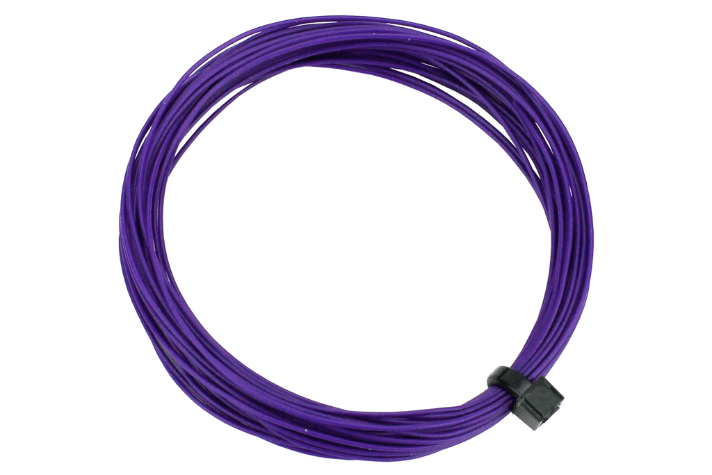 DCC Concepts DCW-32PP Wire Decoder Stranded 6m (32g) - Purple