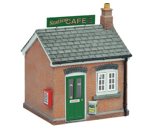 Graham Farish 42-0071 Scenecraft Station Cafe (Pre-Built) - N Scale