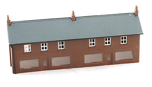 Gaugemaster / Kestrel GMKD06 Two Shop Unit with Glazing - N Scale