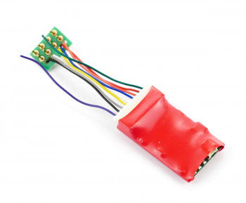 Gaugemaster DCC90 Ruby Series -  2 function Standard DCC Decoder 8 Pin