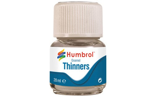 Humbrol AC7501 Enamel Thinners 28ml Jar