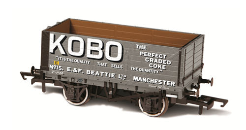 Oxford Rail OR76MW7021 7 Plank Mineral Wagon Kobo No 15 - OO Gauge