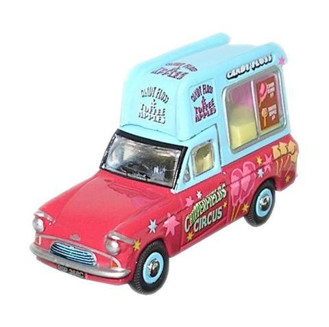 Oxford Diecast CH009 Chipperfields Candy Floss Van - 1:76 Scale ** Only 1 in Stock. Pre-owned but original packing intact **