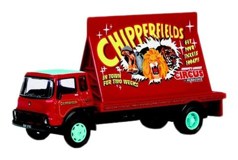 Oxford Diecast CH013 Chipperfield Advertising Board Vehicle - 1:76 Scale ** 1 Only in Stock. Pre-owned but original packing intact Certificate 1976 of 2500 ****