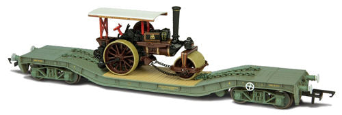 Oxford Rail OR76WW009 Warwell with Steam Road Engine DM721211 - OO Scale