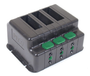 Peco PL-50 Switch Modules with End Caps (3)