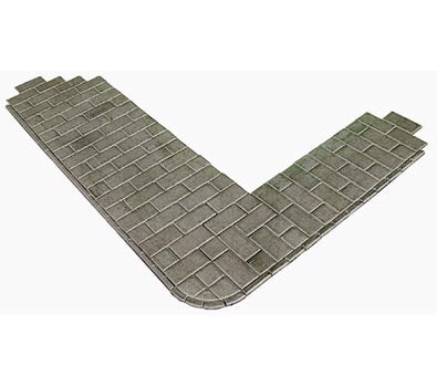 Metcalfe PO210 Paving Slabs - Self Adhesive (OO / HO Scale)