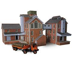 Metcalfe PO229 Tower Style Brewery Kit (OO / HO Scale)