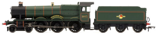 "Hornby Railroad R3499 BR 4-6-0 Hall Class Steam Locomotive Number 4900 ""Helmingham Hall"" Late BR Livery - OO"