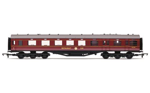 Hornby R4131C BR (Ex LMS) 68' Dining Car M232M in BR Maroon livery - OO Gauge