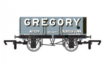 "Hornby R6755 7 Plank Wagon ""Gregory"" No 109 - OO Scale"