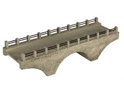 R9732 Hornby Rail Over River Bridge - OO Scale
