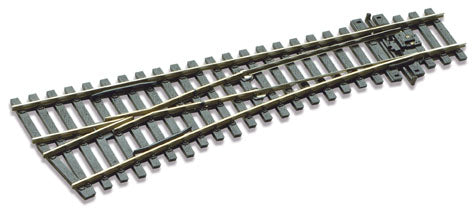 Peco SL-E192 Left Hand Point - Small Radius Code 75 (Electrofrog) - OO / HO Gauge