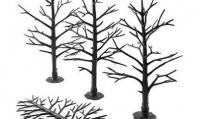 Woodland Scenics TR1123 Tree Armatures - Deciduous 5 to 7 inches in height (12)