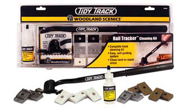 Woodland Scenics TT4550 Tidy Tracker Cleaning Kit - For OO and N Scales