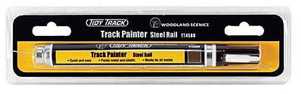 Woodland Scenics TT4580 Tidy Track Track Painter - Steel Rail - 10ml tube