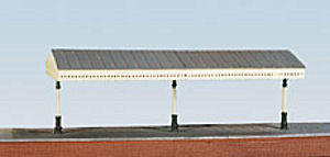 Wills SS54 Station Canopy Plastic Kit - OO Scale