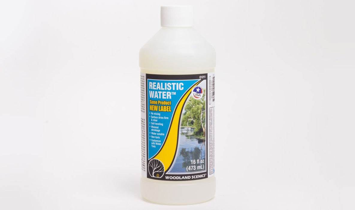 Woodland Scenics C1211 Realistic Water 473ml