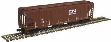 Atlas Master Line 50 004 596 Canadian National PS 4427 Covered Hopper - N Gauge ** Last one - discontinued item **