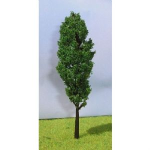 Tasma products TB100M, OO Scale medium green poplar tree 100mm tall