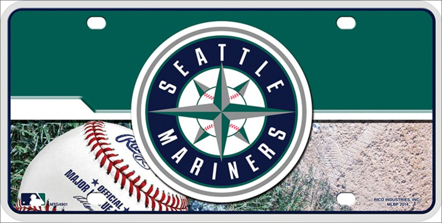 Seattle Mariners Auto Tag