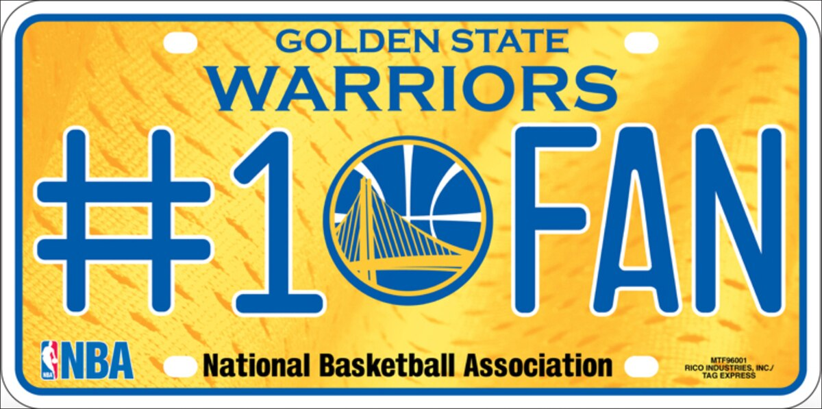 Golden State Warriors Auto Tag