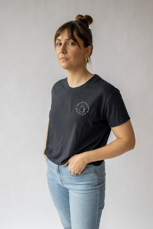 Sad Songs And Black Coffee Cropped Tee