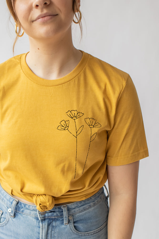 Load image into Gallery viewer, Wild Flower Tee