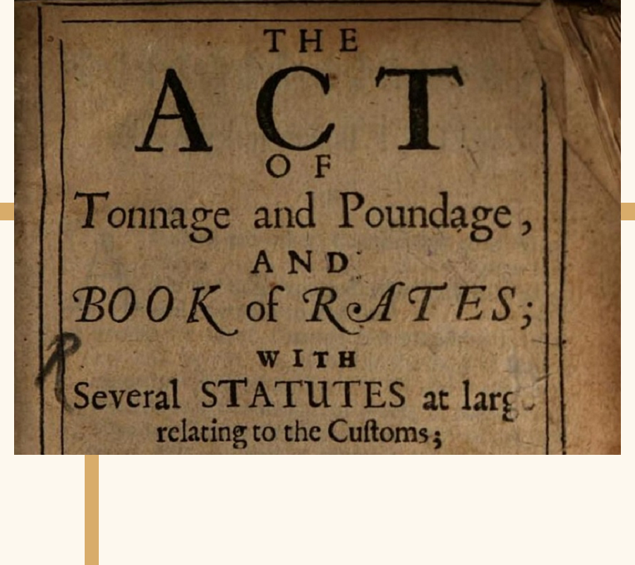The Tonnage Act