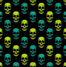 Load image into Gallery viewer, Green Skulls (Preorder)