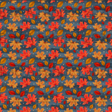 Load image into Gallery viewer, Autumn Leaves Cotton Lycra (Retail)