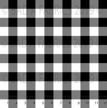 Load image into Gallery viewer, Black & White Plaid (Preorder)
