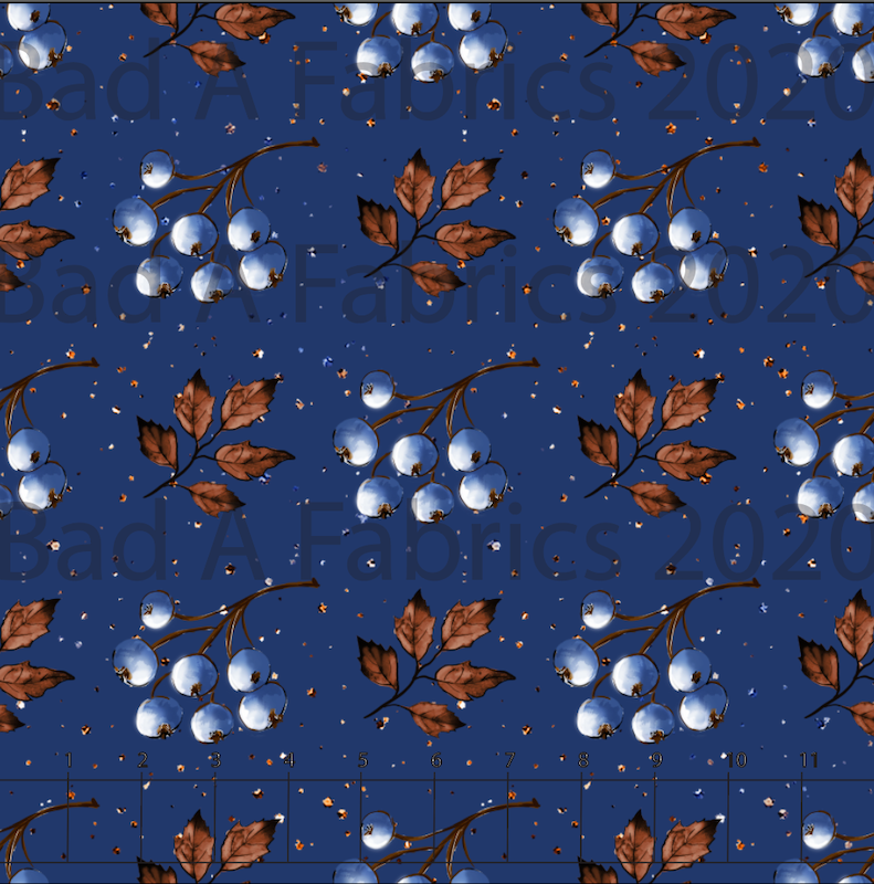 Fall Berries Cotton Lycra (Retail)