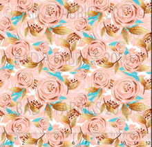 Load image into Gallery viewer, Aqua & Blush Floral (Preorder)