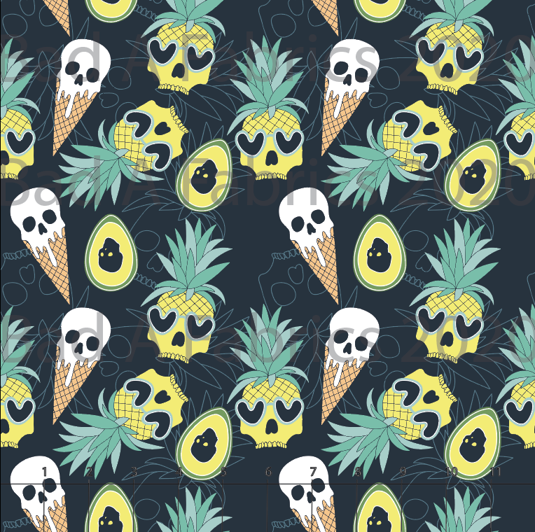 Skull Pineapples (Preorder)