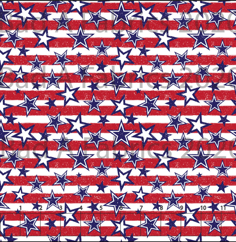 Stars & Stripes Cotton Woven (Retail)
