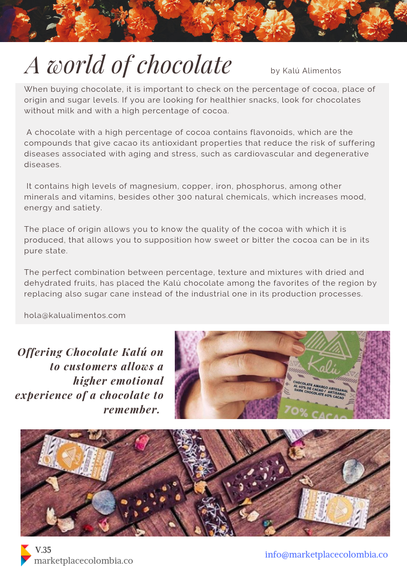 colombian chocolate marketplacecolombia